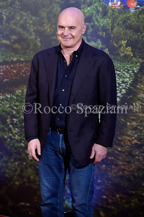 """Luca Zingaretti attends the """" Il Vegetale"""" photocall at Hotel St. Regis on January 12, 2018 in Rome, Italy."""