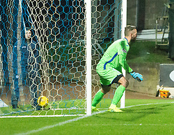 Ross County's Liam Boyce scoring their fourth goal. St Johnstone 2 v 4 Ross County. SPFL Ladbrokes Premiership game played 19/11/2016 at St Johnstone's home ground, McDiarmid Park.