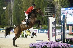 Wathelet Gregory, (BEL), Conrad de Hus<br /> Final<br /> Furusiyya FEI Nations Cup Jumping Final - Barcelona 2015<br /> © Dirk Caremans<br /> 26/09/15