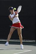 2007 FAU Women's Tennis @ Miami, January 26, 2007.