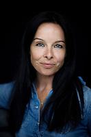 Malena Laszlo, sångerska och skådespelare.