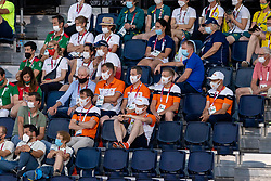 Netherlands Jumping team, Smolders Harrie, Houtzager Marc, Van Der Vleuten Maikel, Greve Willem, Ehrens Rob<br /> Olympic Games Tokyo 2021<br /> © Hippo Foto - Dirk Caremans<br /> 28/07/2021