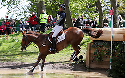 Bango ridden by Tim Price on the Cross Country during day four of the 2019 Mitsubishi Motors Badminton Horse Trials at The Badminton Estate, Gloucestershire. PRESS ASSOCIATION Photo. Picture date: Saturday May 4, 2019. See PA story EQUESTRIAN Badminton. Photo credit should read: David Davies/PA Wire