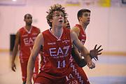 DESCRIZIONE : Borgosesia Torneo di Varallo Lega A 2011-12 EA7 Emporio Armani Milano Novipiu Casale Monferrato<br /> GIOCATORE : Nicolo Melli<br /> CATEGORIA : Ritratto Rimbalzo<br /> SQUADRA : EA7 Emporio Armani Milano<br /> EVENTO : Campionato Lega A 2011-2012<br /> GARA : EA7 Emporio Armani Milano Novipiu Casale Monferrato<br /> DATA : 10/09/2011<br /> SPORT : Pallacanestro<br /> AUTORE : Agenzia Ciamillo-Castoria/A.Dealberto<br /> Galleria : Lega Basket A 2011-2012<br /> Fotonotizia : Borgosesia Torneo di Varallo Lega A 2011-12 EA7 Emporio Armani Milano Novipiu Casale Monferrato<br /> Predefinita :