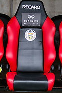 St Mirren dugout ahead of the Ladbrokes Scottish Premiership match between St Mirren and Livingston at the Simple Digital Arena, Paisley, Scotland on 2nd March 2019.