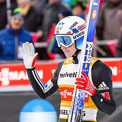 21.12.2014, Gross Titlis Schanze, Engelberg, SUI, FIS Weltcup Ski Sprung, Engelberg, im Bild Anders Fannemel, Norwegen // during mens FIS Ski Jumping World Cup at the Gross Titlis Schanze in Engelberg, Switzerland on 2014/12/21. EXPA Pictures © 2014, PhotoCredit: EXPA/ Eibner-Pressefoto/ Socher<br /> <br /> *****ATTENTION - OUT of GER*****