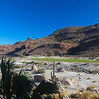 Mexico, Baja California Sur, Loreto. Villa del Palmar Loreto, golf resort and spa.