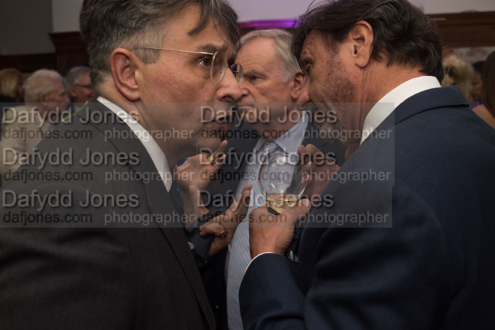 Tomasz Starzewski; JEFFREY ARCHER; ROCCO FORTE, The Brown's Hotel Summer Party hosted by Sir Rocco Forte and Olga Polizzi, Brown's Hotel. Albermarle St. London. 14 May 2015