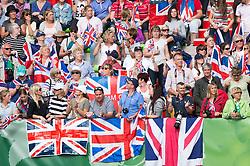 British supporters - Freestyle Grand Prix Dressage - Alltech FEI World Equestrian Games™ 2014 - Normandy, France.<br /> © Hippo Foto Team - Jon Stroud<br /> 25/06/14