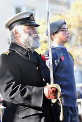 © Licensed to London News Pictures. 11/11/2012. Brighton,Uk. Remembrance Sunday ceremony at The Old Steine, Brighton on Remembrance Sunday on 11th November 2012. The ceremony included a two minute silence and the laying of wreaths. Photo credit should read: David Mirzoeff/LNP