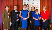 The 2015 Scottish Border Business Award winners for Micro Business of the Year for Business Innovation: <br /> Aquarius Hair Design, Earlston.<br /> Sponsored by Federation of Small Businesses.<br /> <br /> The 2015 Scottish Border Business Awards, held at Springwood Hall, Kelso. The awards were run by the Scottish Borders Chambers of Commerce, with guest speaker Keith Brown, MSP. The SBCC chairman Jack Clark and the presenter Fiona Armstrong co hosted the event.
