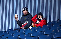 West Bromwich Albion fans in the stands before the Premier League match at The Hawthorns, West Bromwich.