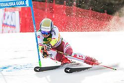 Marco Schwartz (AUT) during the Audi FIS Alpine Ski World Cup Men's Giant Slalom at 60th Vitranc Cup 2021 on March 13, 2021 in Podkoren, Kranjska Gora, Slovenia Photo by Grega Valancic / Sportida