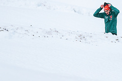 30.12.2017, Schattenbergschanze, Oberstdorf, GER, FIS Weltcup Ski Sprung, Vierschanzentournee, Garmisch Partenkirchen, Probesprung, im Bild Richard Freitag (GER) // Richard Freitag of Germany before his Trial Jump for the Four Hills Tournament of FIS Ski Jumping World Cup at the Schattenbergschanze in Oberstdorf, Germany on 2017/12/30. EXPA Pictures © 2017, PhotoCredit: EXPA/ JFK