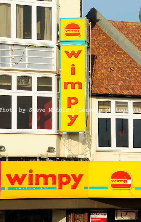 Wimpy Restaurant Sign - 2010