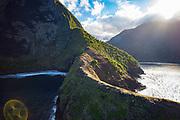 Pelekunu Valley, North Shore, Molokai, Hawaii