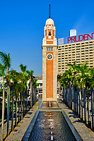 Chine, Hong Kong, Kowloon, Tsim Sha Tsui, Clock Tower // China, Hong Kong, Kowloon, Tsim Sha Tsui, Clock Tower