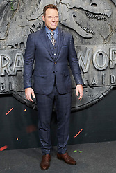 Chris Pratt attends the Jurassic World: Fallen Kingdom (Jurassic World: El Reino Caido) premiere at WiZink Center on May 21, 2018 in Madrid, Spain. Photo by Archie AndrewsABACAPRESS.COM
