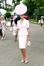 Isabell Kristensen during day one of Royal Ascot at Ascot Racecourse