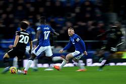 Everton's Wayne Rooney in action