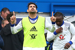 May 8, 2017 - London, England, United Kingdom - Chelsea's Diego Costa during Premier League match between Chelsea and Middlesbrough at Stamford Bridge, London, England on 08 May 2017. (Credit Image: © Kieran Galvin/NurPhoto via ZUMA Press)