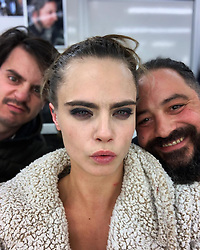"Cara Delevingne releases a photo on Instagram with the following caption: ""Ouch!!! This is what the last day looks like!!! This show has taught me so much about who I am, my limits, my strengths, my sensitivity and also about how lucky I am to do what I love most in the world. Being able to explore humanity and why people do what they do. Most importantly, how none of this show or anything I do would be possible without the people around me! I will never stop thanking the cast and ESPECIALLY crew of #CarnivalRow they work harder than you could ever imagine. They are my family and always will be. I love you guys!!! Till next time.... #vignettestonemoss @amazonprimevideo @legendary @stillkingfilms"". Photo Credit: Instagram *** No USA Distribution *** For Editorial Use Only *** Not to be Published in Books or Photo Books ***  Please note: Fees charged by the agency are for the agency's services only, and do not, nor are they intended to, convey to the user any ownership of Copyright or License in the material. The agency does not claim any ownership including but not limited to Copyright or License in the attached material. By publishing this material you expressly agree to indemnify and to hold the agency and its directors, shareholders and employees harmless from any loss, claims, damages, demands, expenses (including legal fees), or any causes of action or allegation against the agency arising out of or connected in any way with publication of the material."
