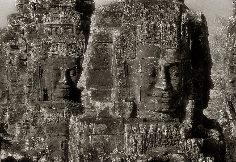 Images from John McDermott's collection of Angkor photographs, and book ELEGY:REFLECTIONS ON ANGKOR published 2009