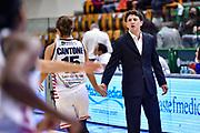 Chiara Cantone, Antonello Restivo<br /> Banco di Sardegna Dinamo Sassari - O.ME.P.S. BricUp Battipaglia<br /> Legabasket Femminile LBF Techfind Serie A1 2020-2021<br /> Sassari, 03/10/2020<br /> Foto L.Canu / Ciamillo-Castoria