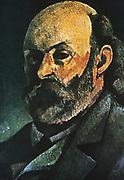 Self-Portrait, 1880. Paul Cezanne (1839-1906) French Post-Impressionist painter.