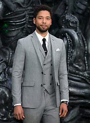Jussie Smollett, Kenneth Branagh, Danny McBride, Billy Crudup and Naomi Isted attend the Alien: Covenant Global Premiere Arrivals at The Odeon, Leicester Square in London on 4 May 2017.<br /><br />4 May 2017.<br /><br />Please byline: Vantagenews.com