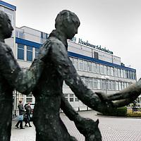 Nederland,Emmeloord ,30 oktober 2008..Dokter J.H. Jansenziekenhuis..In de IJsselmeerziekenhuizen in Lelystad en Emmeloord mag voorlopig niet meer worden geopereerd vanwege de 'onverantwoorde en niet veilige situatie' van de luchtkwaliteit van de operatiekamers.