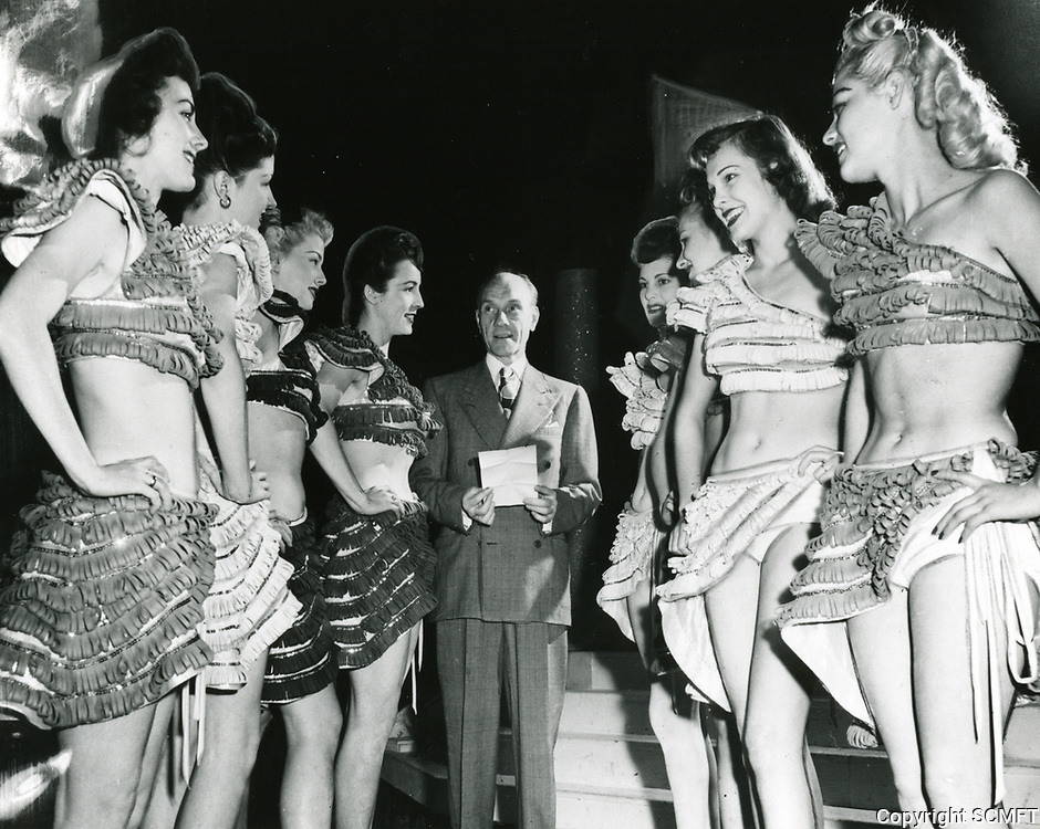 1945 Earl Carroll and his showgirls