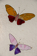 Colorful Glass Butterfly figurine