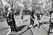 """Friday April 18th 2008..New York, New York. United States..At """"The Cage"""", the West 4th Street Basketball Court..Greenwich Village. .6th Avenue between West 3rd and West 4th Streets."""