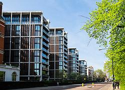 One Hyde Park apartment buildings in Kensington London United Kingdom