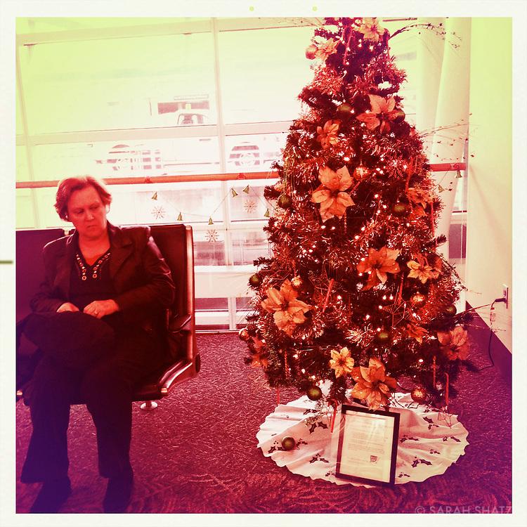 Christmas tree, Jacksonville airport