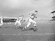 Action from the 1955 All Ireland football final. Dublin v Kerry