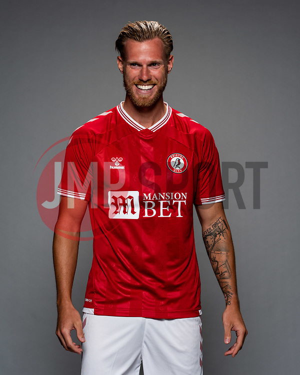 Tomas Kalas as Bristol City release their Home Shirt ahead of the 2020/21 Sky Bet Championship Season season - Rogan/JMP - 31/08/2020 - Ashton Gate Stadium - Bristol, England - Sky Bet Championship.