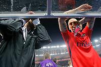 Zlatan Ibrahimovic (psg) during the French League Cup final football match between SC Bastia and Paris Saint Germain on April 11, 2015 at Stade de France in Saint Denis. Photo Stephane Allaman / DPPI