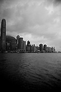 Hong Kong harbor.