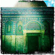 Jerusalem, Israel. September 20th 2011.The Dome of the Rock on the Temple Mount...