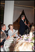 PRINCESS MICHAEL OF KENT; ARNAUD BAMBERGER, Cartier dinner in celebration of the Chelsea Flower Show. The Palm Court at the Hurlingham Club, London. 19 May 2014.