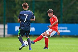 NEWPORT, WALES - Wednesday, July 25, 2018: Jack Karadogan during the Welsh Football Trust Cymru Cup 2018 at Dragon Park. (Pic by Paul Greenwood/Propaganda)