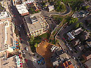 SHOT 7/1/17 7:07:35 PM - Drone photos of Park City, Utah. Park City lies east of Salt Lake City in the western state of Utah. Framed by the craggy Wasatch Range, it's bordered by the Deer Valley Resort and the huge Park City Mountain Resort, both known for their ski slopes. Utah Olympic Park, to the north, hosted the 2002 Winter Olympics and is now predominantly a training facility. In town, Main Street is lined with buildings built during a 19th-century silver mining boom. (Photo by Marc Piscotty / © 2017)
