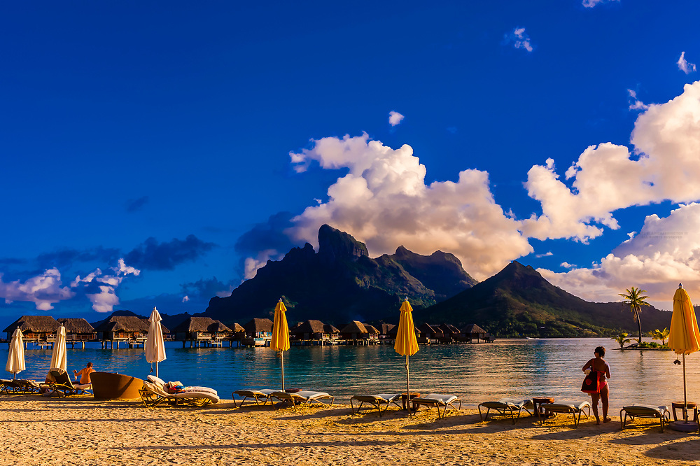 Four Seasons Resort Bora Bora, Motu Tehotu, Bora Bora, French Polynesia.