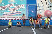 Circus VargasTent Preparation –Milpitas, Calif.