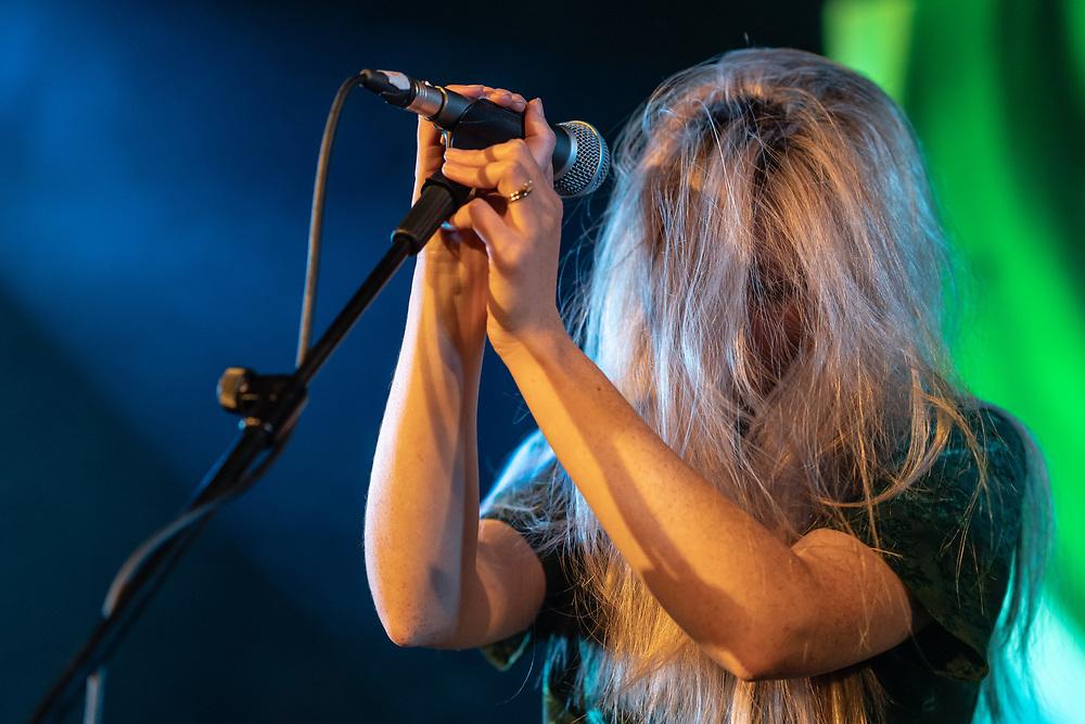 Tessa Murray of British dream-pop duo Still Corners at Hafen 2 in Offenbach