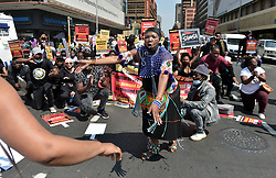 South Africa - Pretoria - 16 September 2020. Artists form various spectrums of the entertainment industry march to Union Buildings demanding the government to open up their industry and and give them permission to fill events to at least 70%.<br /> Picture: Oupa Mokoena/African News Agency (ANA)
