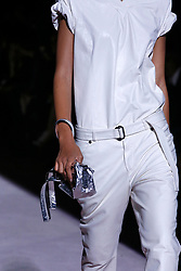 Accessories, shoes, handbags, purses, details on the runway during the Tom Ford Fashion show during New York Fashion Week Spring Summer 2018 in New York, NY on September 6, 2017. (Photo by Jonas Gustavsson/Sipa USA)