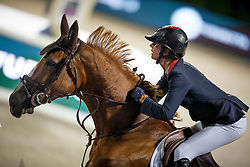 Leprevost Penelope, (FRA), Flora de Mariposa, FEI President<br /> Logines Challenge Cup<br /> Furusiyya FEI Nations Cup Jumping Final - Barcelona 2015<br /> © Dirk Caremans<br /> 25/09/15